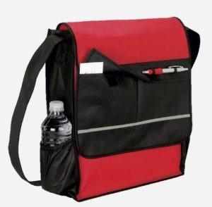 Messenger gift bag